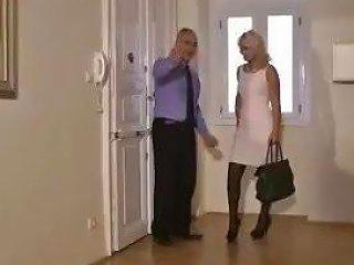 Old Fella Calls A Blonde Whore