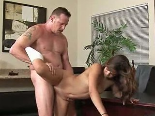 Young Chick Gets Nailed