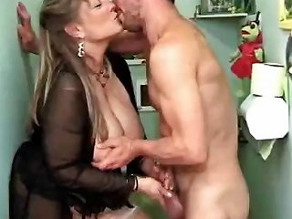 Worn Out Mature Prostitute With Huge Tits Services Two Guys